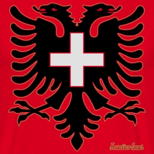 Albania Switzerland Francisco Evans ™ Bags & Backpacks - Men's T-Shirt