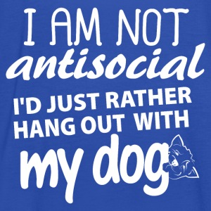 I'm not anti-social, I'd just rather hang out with - Women's Tank Top by Bella