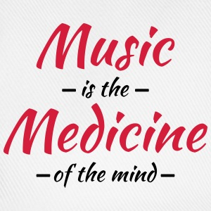Music is the medicine of the mind T-Shirts - Baseball Cap