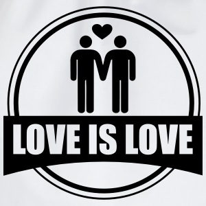 LOVE IS LOVE GAY T-skjorter - Gymbag