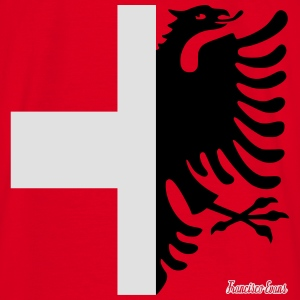Albania Switzerland Francisco Evans ™ Hoodies & Sweatshirts - Men's T-Shirt