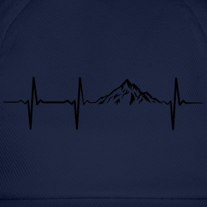 Heartbeat Mountains Tee shirts - Casquette classique