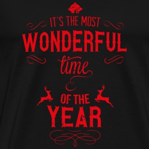 most_wonderful_time_of_the_year_r Tassen & Zubehör - Männer Premium T-Shirt