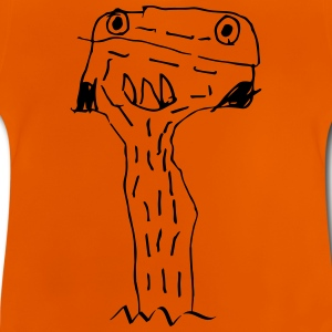 Scribble Monster, kids, children, kindergarten Shirts - Baby T-Shirt