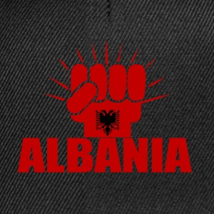 Albania Power T-Shirts - Snapback Cap
