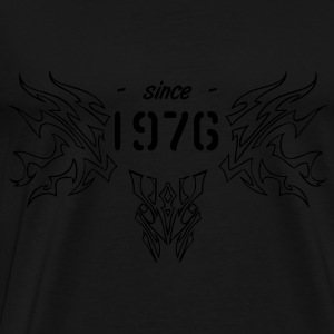 since 1976 Tribal Pullover & Hoodies - Männer Premium T-Shirt