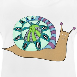 Happy snail t-shirt for teens - Baby T-Shirt