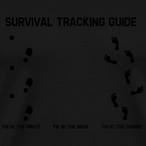 Survivial tracking guide Pullover & Hoodies - Männer Premium T-Shirt