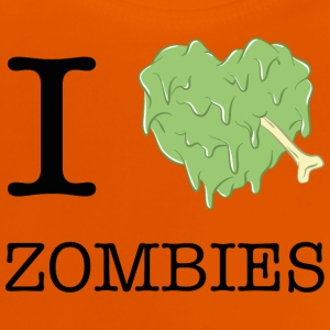 I LOVE ZOMBIES T-Shirts - Baby T-Shirt