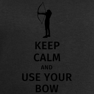 keep calm and use your bow Tassen & Zubehör - Männer Sweatshirt von Stanley & Stella