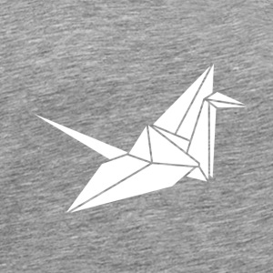 White Crane Other - Men's Premium T-Shirt