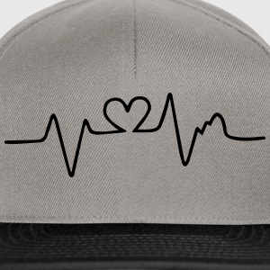 heart beat T-Shirts - Snapback Cap