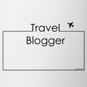 Shirt Travel Blogger I Frameshirts - Tasse