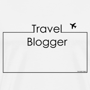 Travel Blogger Black Tops - Men's Premium T-Shirt