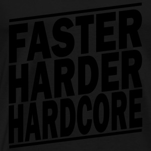 faster harder ii Sweats - T-shirt Premium Homme