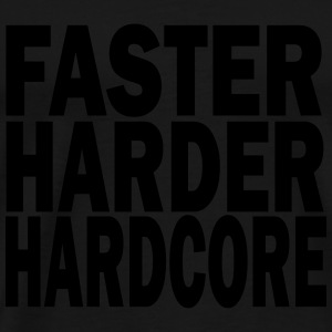 faster harder louder Sweats - T-shirt Premium Homme