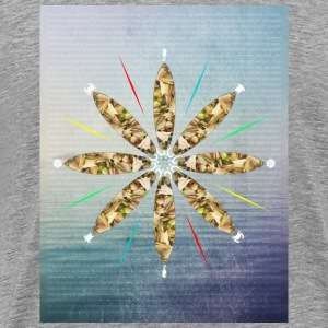 colorful wheel of surfing - Männer Premium T-Shirt