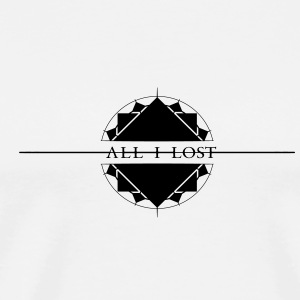 All I Lost Pin - Premium-T-shirt herr