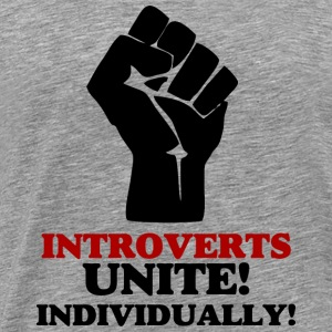 Introverts Unite v2 Sports wear - Men's Premium T-Shirt