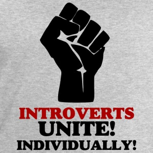Introverts Unite v2 T-Shirts - Men's Sweatshirt by Stanley & Stella