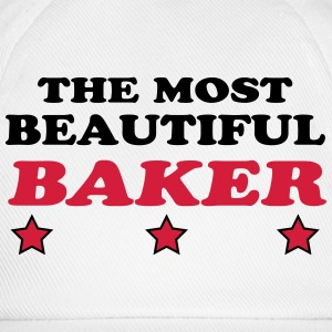 The most beautiful baker Camisetas - Gorra béisbol