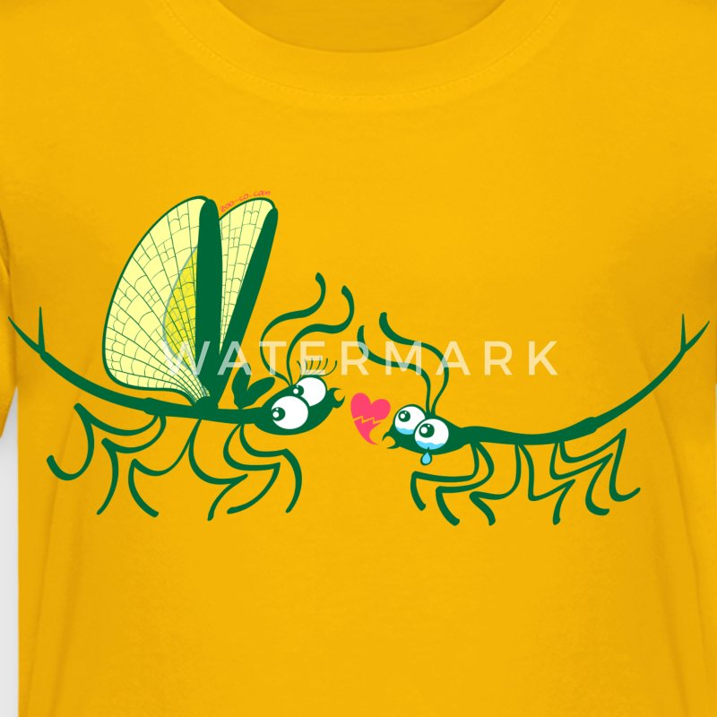 Stick insects painfully breaking their love Shirts - Kids' Premium T-Shirt