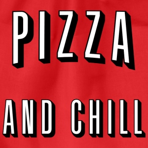 Pizza and chill Tee shirts - Sac de sport léger