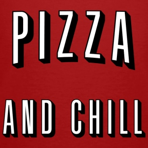 Pizza and chill Hoodies & Sweatshirts - Men's Organic T-shirt