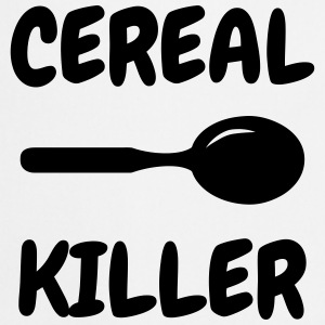 Cereal Killer - Humor - Funny - Joke - Friend Shirts - Cooking Apron
