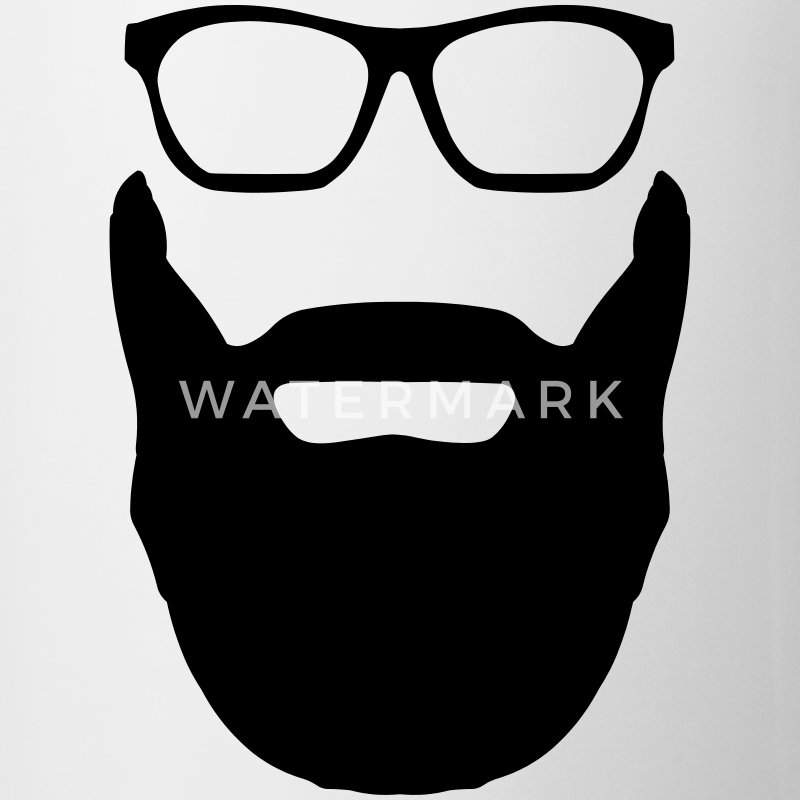 Beard And Glasses Mugs & Drinkware - Mug