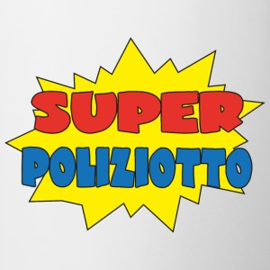 Super poliziotto Tee shirts - Tasse