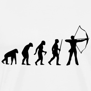ARCHERY EVOLUTION! Polo Shirts - Men's Premium T-Shirt