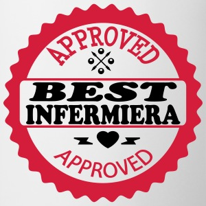 Approved best infermiera Magliette - Tazza