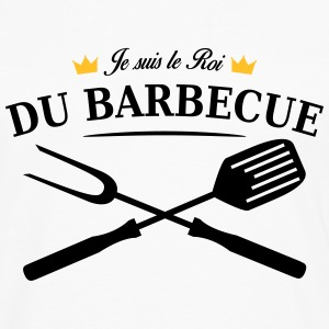 roi du barbecue Tee shirts - T-shirt manches longues Premium Homme