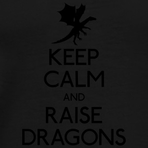 Keep calm dragons Mugs & Drinkware - Men's Premium T-Shirt
