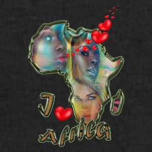 I love Africa - Men's Sweatshirt by Stanley & Stella
