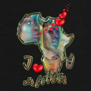 I love Africa - Men's Premium T-Shirt