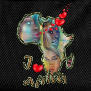 I love Africa - Kids' Backpack