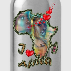 I love Africa - Water Bottle