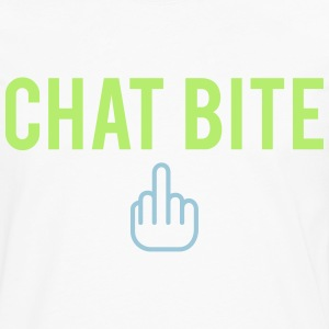 Chat bite Tee shirts - T-shirt manches longues Premium Homme