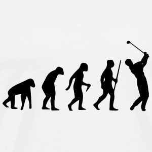 GOLF EVOLUTION Baby body - Mannen Premium T-shirt