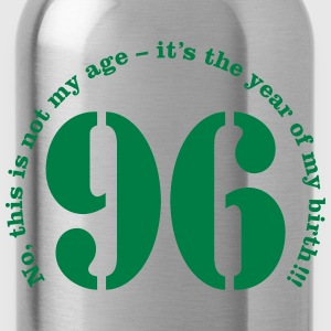 Year of birth 1996 - Not my age T-Shirts - Water Bottle