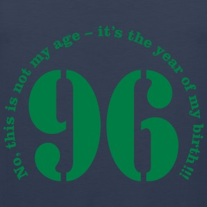 Year of birth 1996 - Not my age T-Shirts - Men's Premium Tank Top