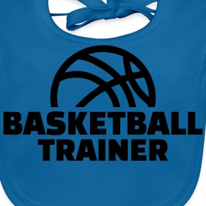 Basketball Trainer T-Shirts - Baby Bio-Lätzchen