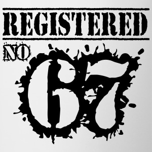 Registered No 67 - 49th Birthday T-Shirts - Mug