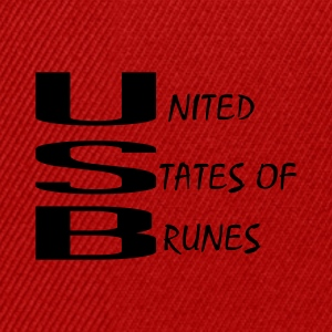 UNITED STATES BRUNE Tee shirts - Casquette snapback