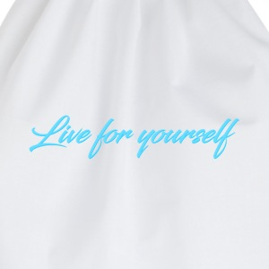 Live For Yourself Mens - Drawstring Bag