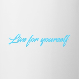 Live For Yourself Mens - Mug