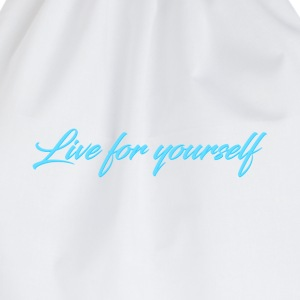 Live For Yourself Womens - Drawstring Bag