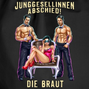 JGA Braut PIN-Up Stripper RAHMENLOS Pullover & Hoodies - Turnbeutel